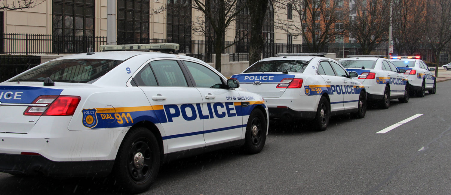 White Plains Police Cars