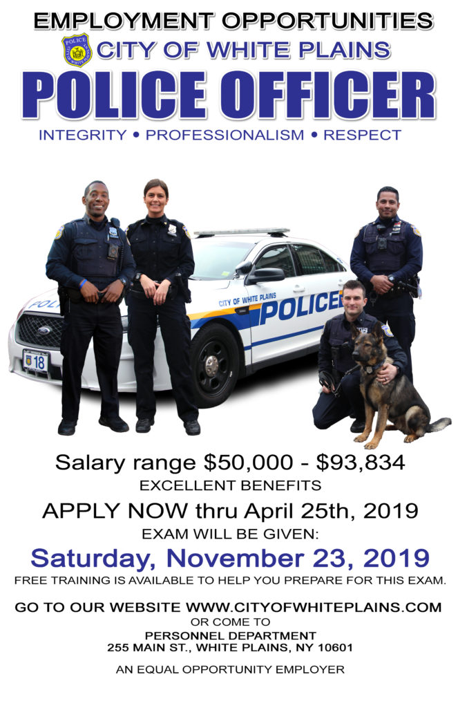 Police Exam Announcement