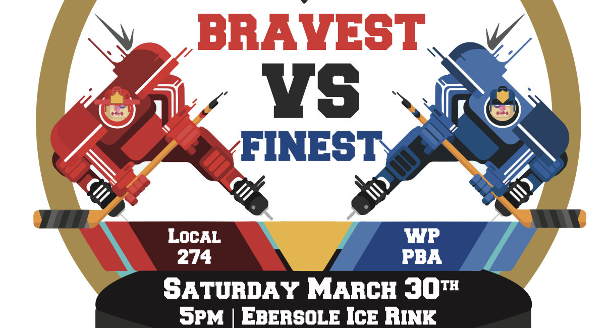 24th Annual Bravest Vs. Finest Charity Hockey Game